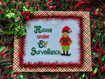 Elf Alarm - Cross Stitch Pattern