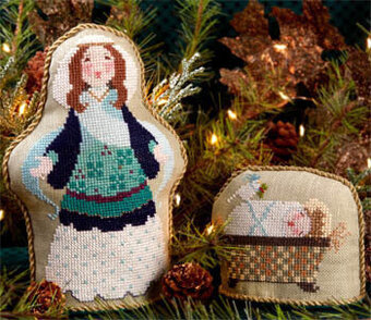 Mary Had A Baby - Cross Stitch Pattern