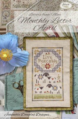 Letters From Mom 8 - April - Cross Stitch Pattern