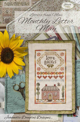 Letters From Mom 10 - May - Cross Stitch Pattern