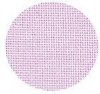 22 Count Pale Pink Hardanger Fabric 36x59