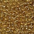 Mill Hill 18011 Victorian Gold Glass Pony Beads - Size 8/0