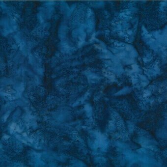 Delft Watercolor Batik 100% Cotton Fabric Half Yard