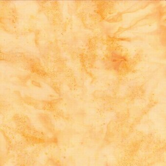 Cream Watercolor Batik 100% Cotton Fabric Fat Quarter