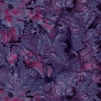 Merlot Watercolor Batik 100% Cotton Fabric Fat Quarter