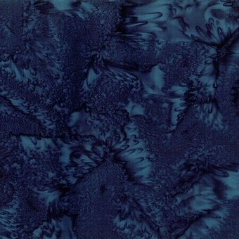 Liquorice Watercolor Batik 100% Cotton Fabric Fat Quarter