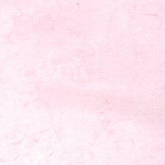 Pink Lemonade Watercolor Batik 100% Cotton Fabric Half Yard