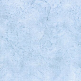 Dusty Blue Watercolor Batik 100% Cotton Fabric Fat Quarter