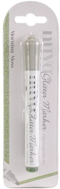 Nuvo Glitter Marker Pen - Morning Moss Green
