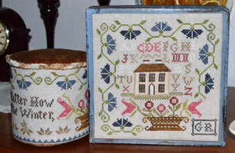 No Matter How Hard the Winter - Cross Stitch Pattern