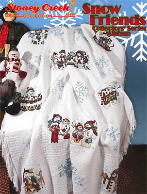 Snow Friends Collectors Series Afghan - Cross Stitch Pattern