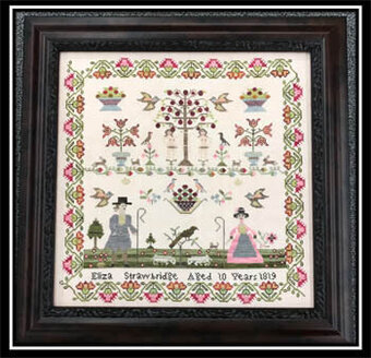 Eliza Strawbridge 1819 - Cross Stitch Pattern