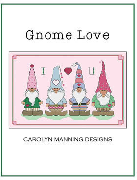 Gnome Love - Cross Stitch Pattern