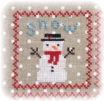 Snowy 9 Patch - Part 1 - Cross Stitch Pattern