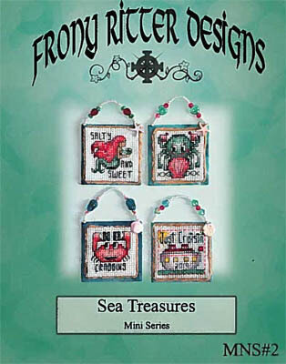 Sea Treasures Mini Series - Cross Stitch Pattern
