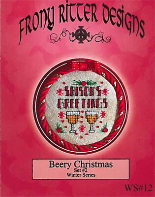Beery Christmas Set #2 - Cross Stitch Pattern