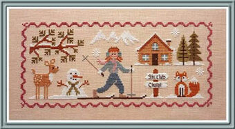 Lili Au Ski - Cross Stitch Pattern