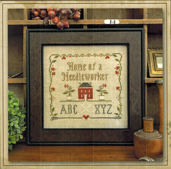 Home of a Needleworker Squared - Cross Stitch Pattern