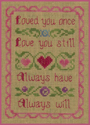 Love You - Cross Stitch Pattern