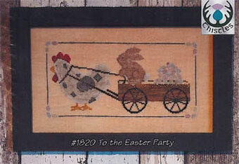 To the Easter Party - Cross Stitch Pattern
