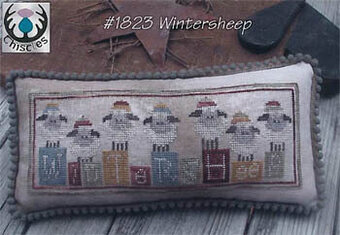 Winter Sheep - Cross Stitch Pattern