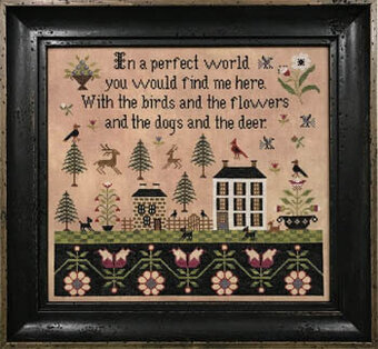 Perfect World - Cross Stitch Pattern