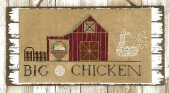 Big Chicken - Cross Stitch Pattern
