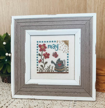 May Squared - Cross Stitch Pattern