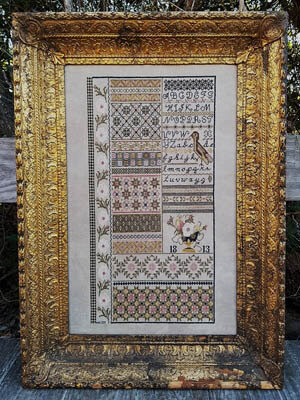 English Garden - Cross Stitch Pattern