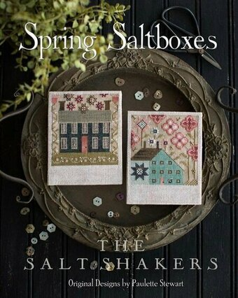 Spring Saltboxes - Cross Stitch Pattern