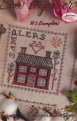 Sew Together #1 Samplers - Cross Stitch Pattern