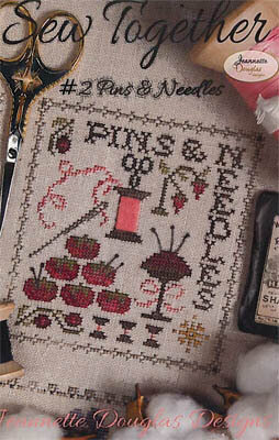 Sew Together #2 Pins & Needles - Cross Stitch Pattern