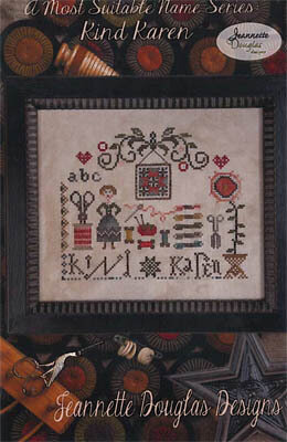 Kind Karen - Cross Stitch Pattern