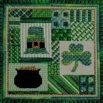 Holiday Delights - St. Patrick's Day - Needlepoint Pattern