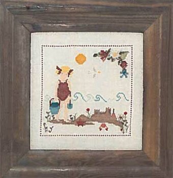 On the Beach - Cross Stitch Pattern