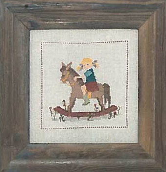 Rocking Horse - Cross Stitch Pattern