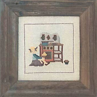 In the Kitchen - Cross Stitch Pattern