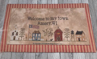 My Town - Cross Stitch Pattern