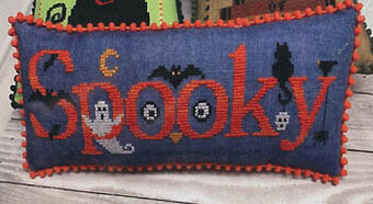 Spooky - Cross Stitch Pattern