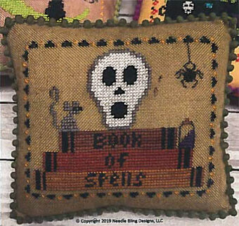 Book of Spells - Cross Stitch Pattern