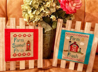 Farm to Table 1 - Cross Stitch Pattern