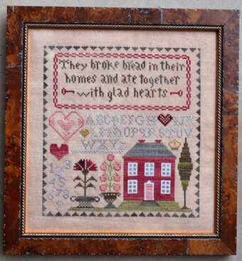 Glad Hearts - Cross Stitch Pattern