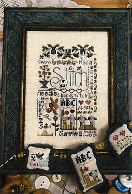 Stitching Notes - Cross Stitch Pattern