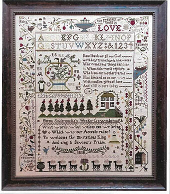 Saviour's Praise - Cross Stitch Pattern