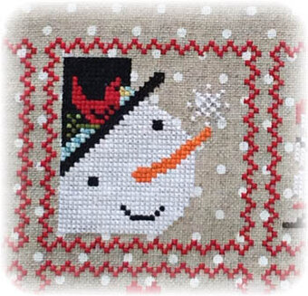 Snowy 9 Patch - Part 2 - Cross Stitch Pattern