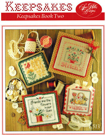 Keepsakes Book Two - Cross Stitch Pattern