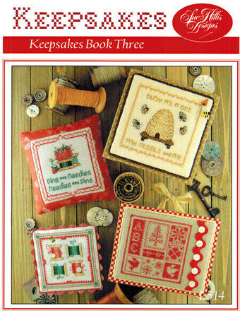 Keepsakes Book Three - Cross Stitch Pattern