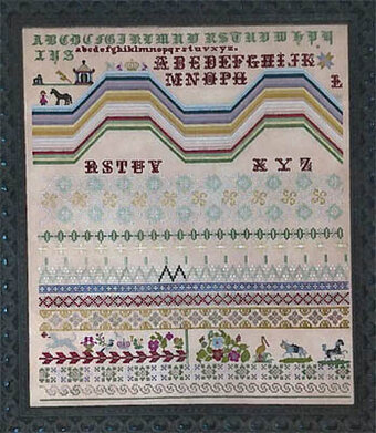 Mexican Rainbow Sampler - Cross Stitch Pattern