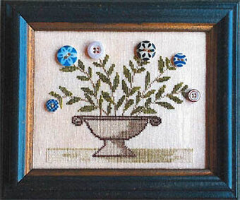 Nancy's Posies - Cross Stitch Pattern