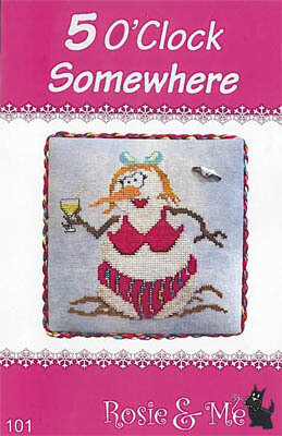 5 O'Clock Somewhere - Cross Stitch Pattern